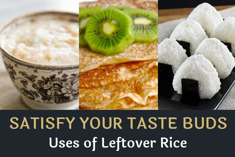 How to make use of leftover rice?