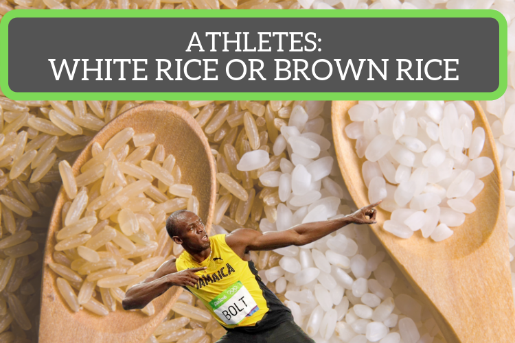 Why Do Athletes Prefer White Rice Over Brown