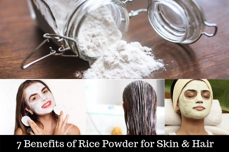 Benefits of rice powder