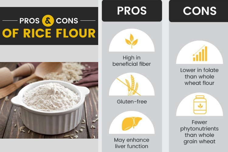 Rice flour Nutrition-pros & cons